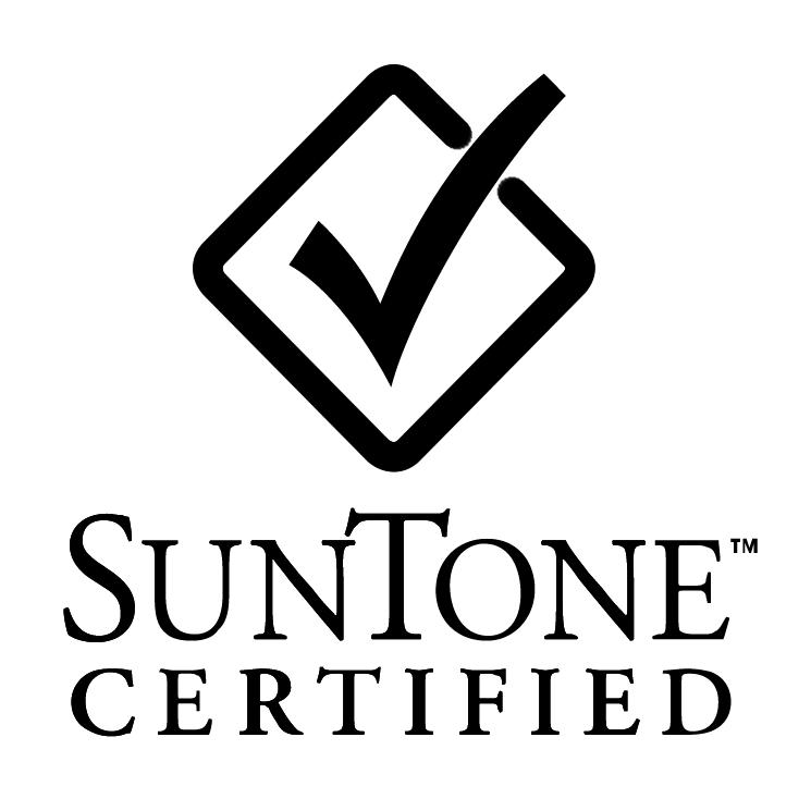 free vector Suntone certified