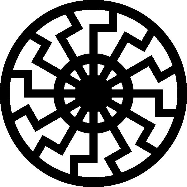 free vector Sunwheel clip art