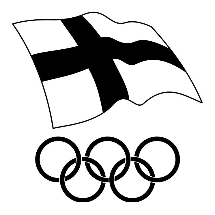 free vector Suomen olympiakomitea
