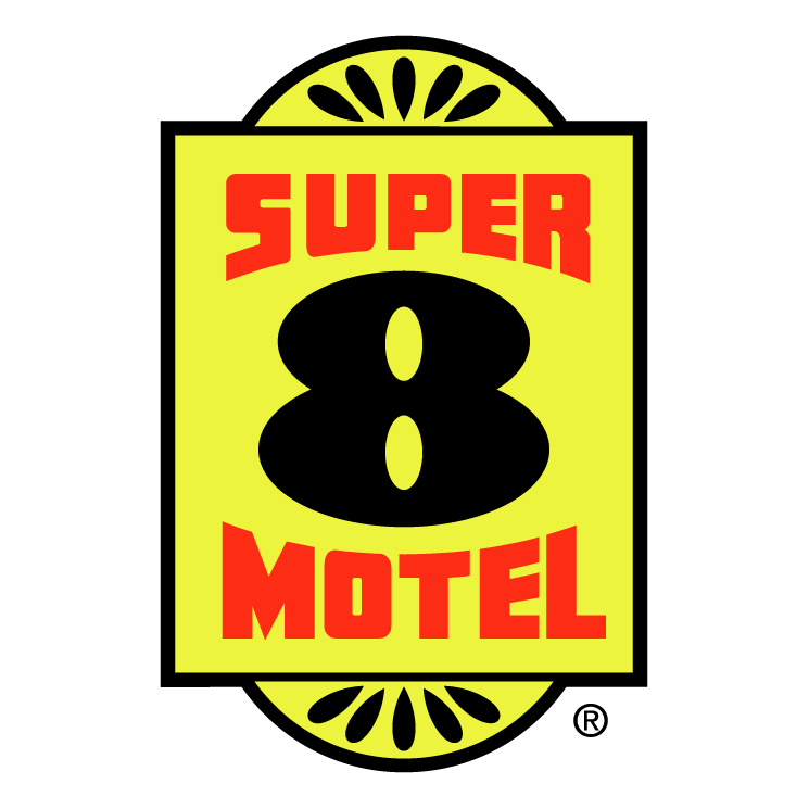 super 8 motel 0 free vector / 4vector