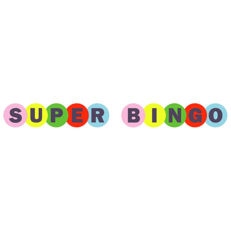 free vector Super bingo