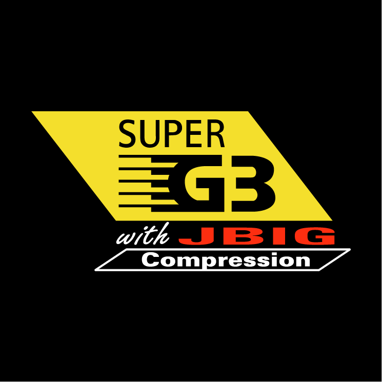 free vector Super g3 with jbig compression