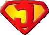 free vector Super Jesus clip art