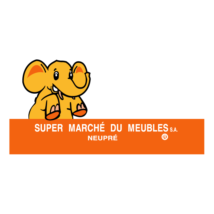 free vector Super marche du meubles