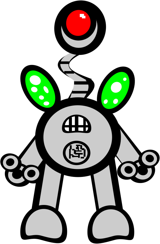 free vector Super robot 2