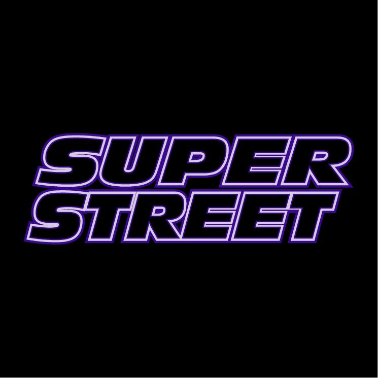 free vector Super street