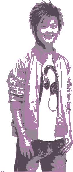 free vector Supergirl clip art