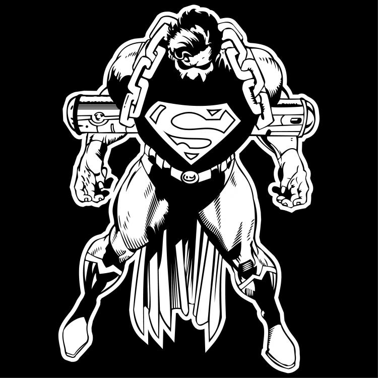 free vector Superman 6