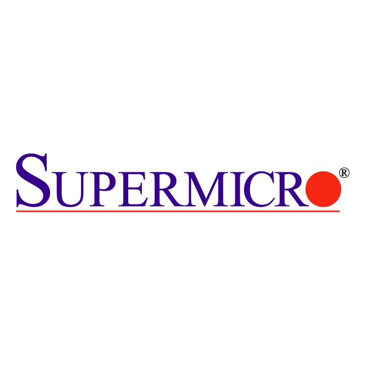free vector Supermicro computer