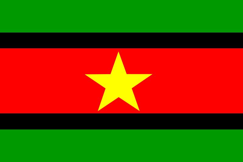 free vector Suriname