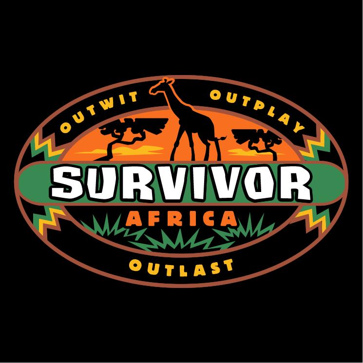 free vector Survivor africa
