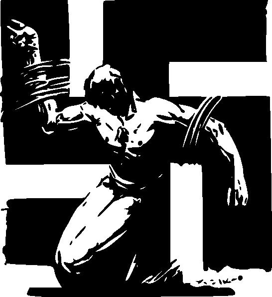 free vector Swastika clip art