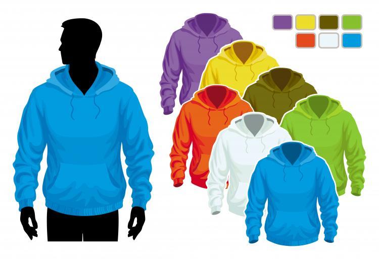 Sweater template 02 vector Free Vector / 4Vector