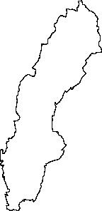 free vector Sweden Map clip art
