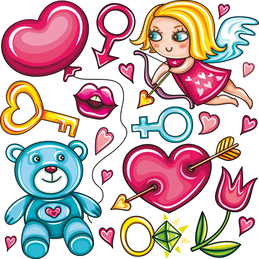 free vector Sweet girl exclusive vector