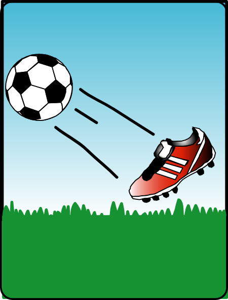 free vector Sweet Soccerball clip art