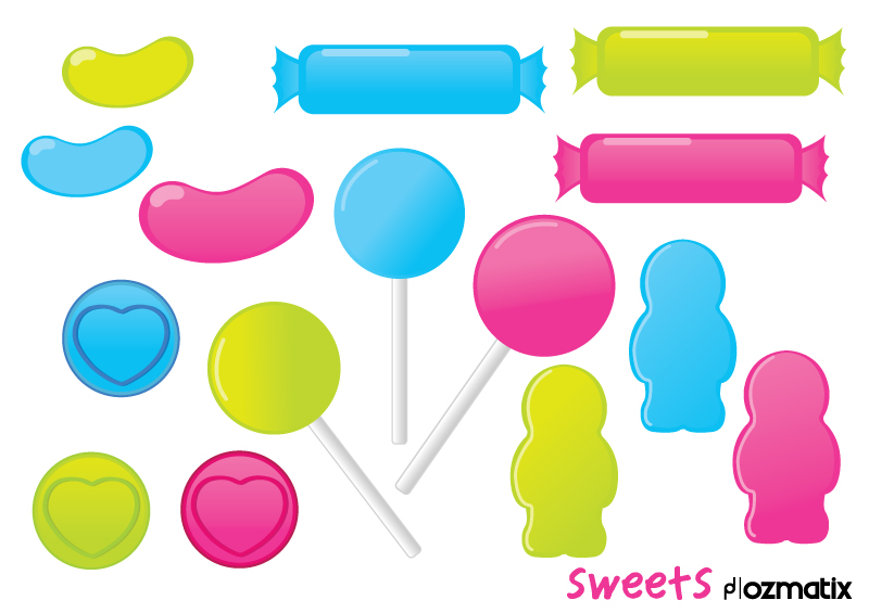 free vector Sweets