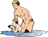 free vector Swim Lesson clip art