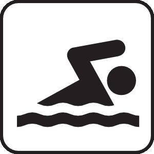 free vector Swimming clip art