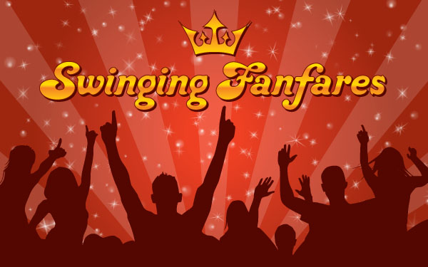 free vector Swinging Funfares Wallpaper Vector