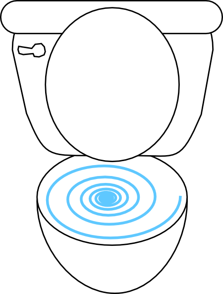 clipart overflowing toilet - photo #40