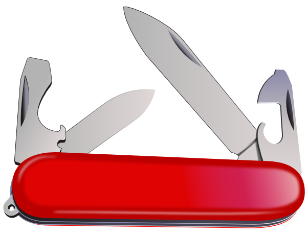 Swiss Army Knife Clip Art 103000 Free Svg Download 4
