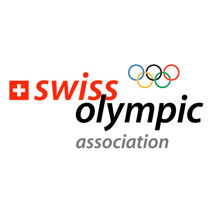 free vector Swiss olympic association