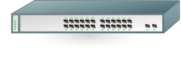 free vector Switch Cisco 3750 clip art