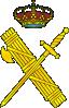 free vector Sword Axe Crown clip art