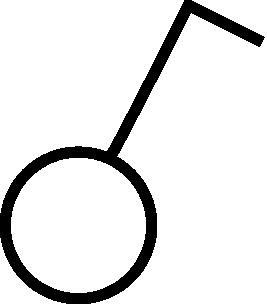 free vector Symbol Circuit Breaker One Pole clip art