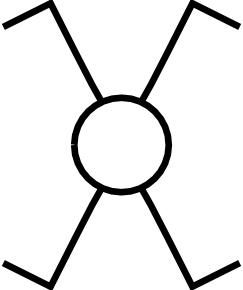 free vector Symbol Cross Switch clip art