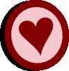 free vector Symbol Heart Vote clip art