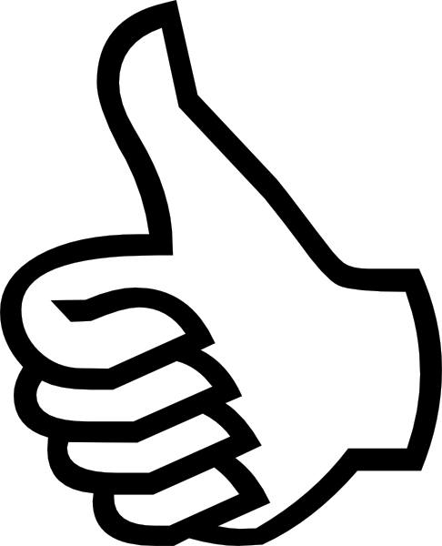 Symbol Thumbs Up Clip Art Free Vector 4vector