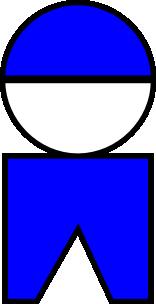 free vector Symbolic Boy clip art