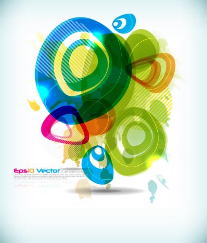 free vector Symphony circular pattern vector