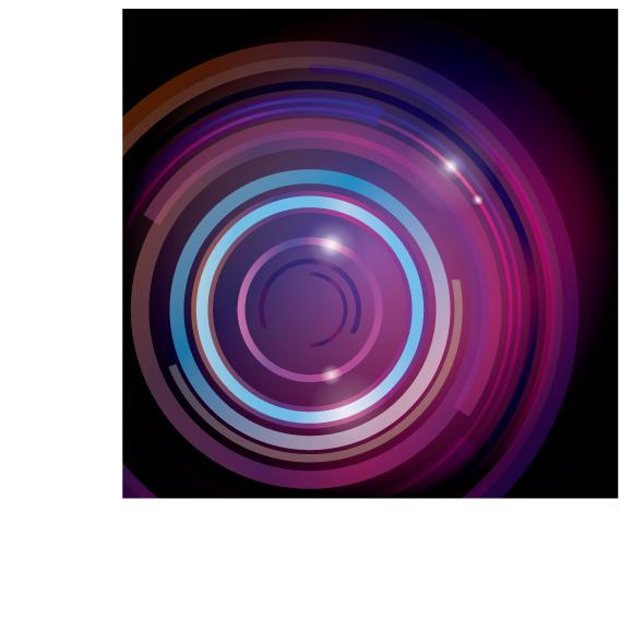 free vector Symphony circular vector background