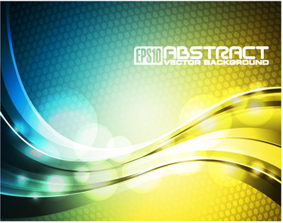 free vector Symphony of dynamic lines of the background vector