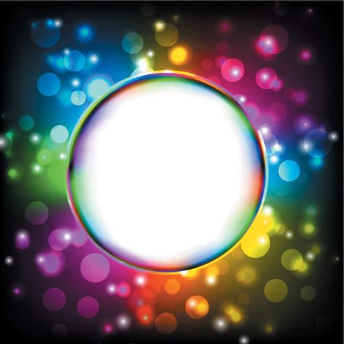 free vector Symphony of light vector dream
