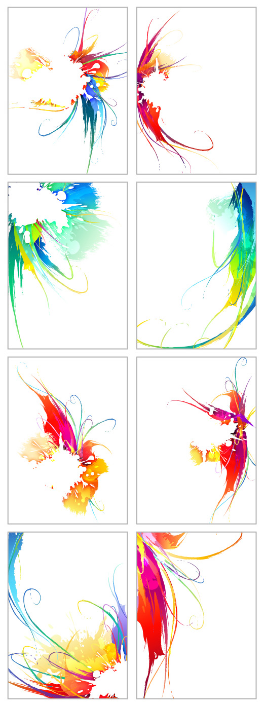 free vector Symphony of the ink vector 2 trend