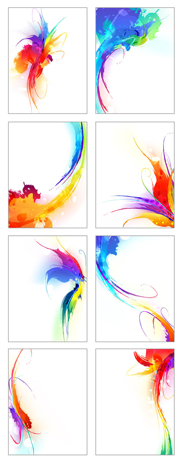 free vector Symphony of the ink vector the trend of 1