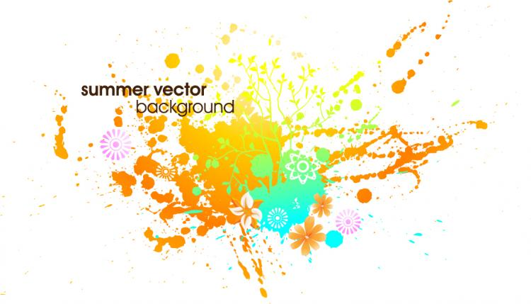free vector Symphony of the ink vector