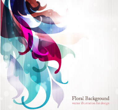 free vector Symphony of the trend vector background