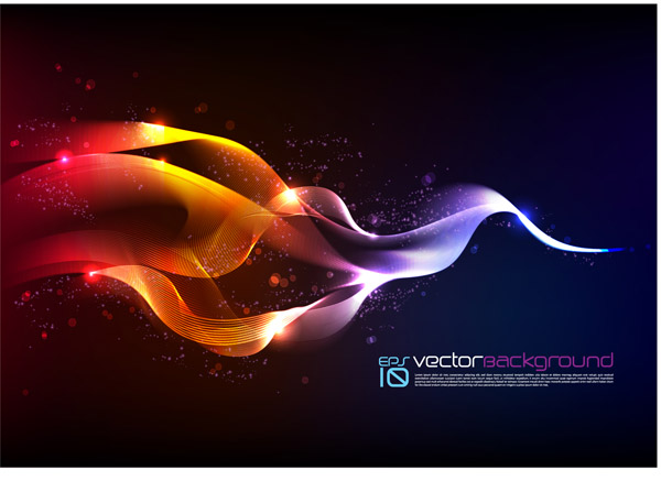 free vector Symphony smoke vector