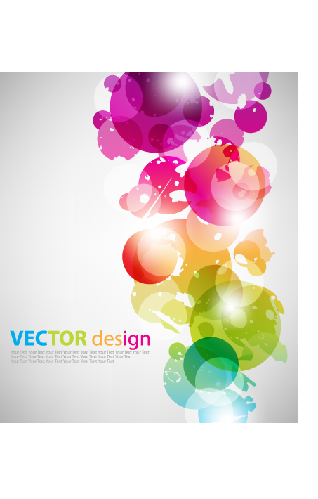 free vector Symphony superimposed circular vector background