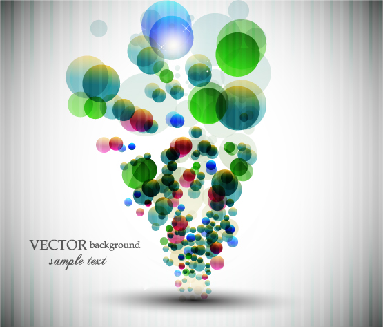 free vector Symphony vector dot background
