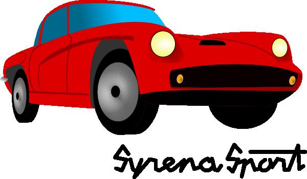 Syrena Sport Clip Art (111404) Free SVG Download / 4 Vector