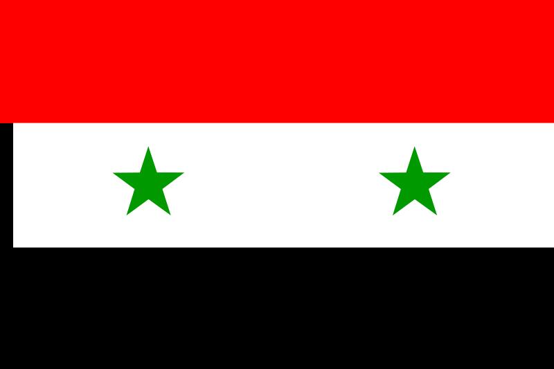 free vector Syrian arab republic