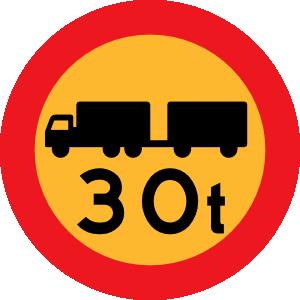 free vector T Truck Sign clip art
