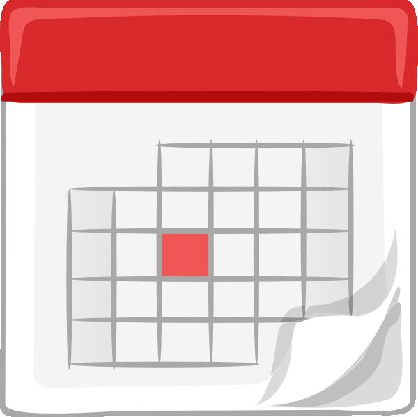free vector Table Calendar clip art