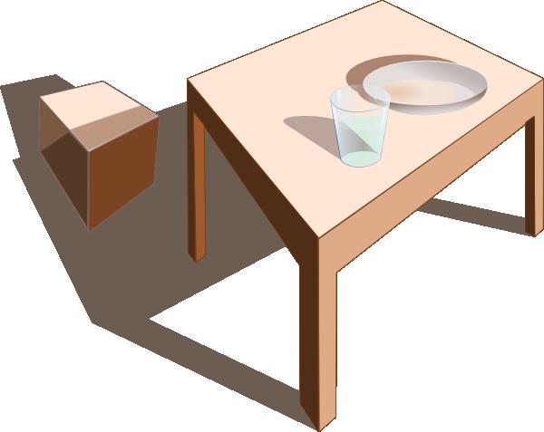free vector Table clip art